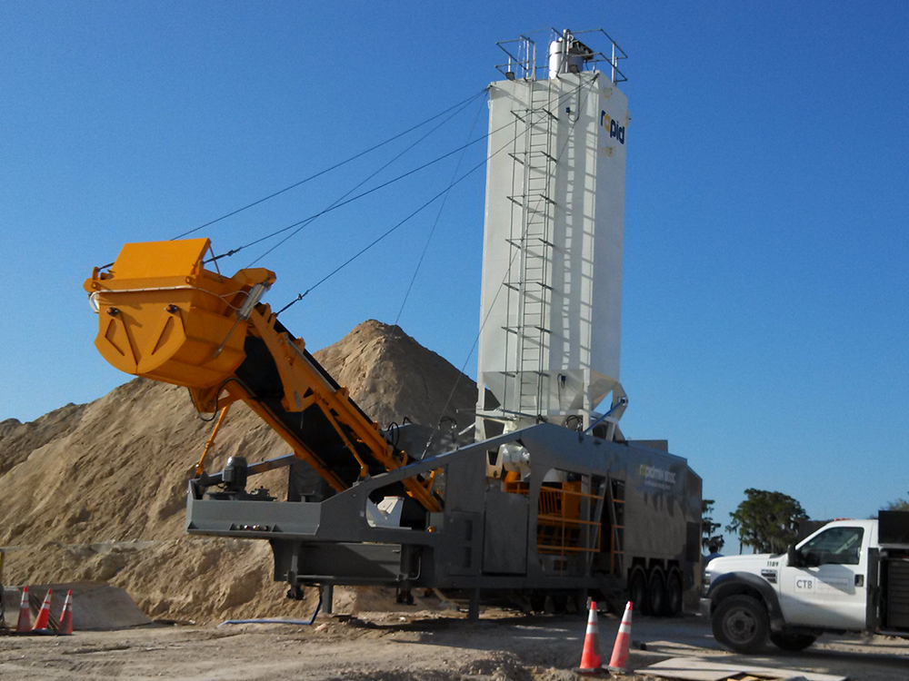 Rapidmix 600C ready for operation