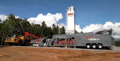 Rapidmix 400C Mobile Pugmill Mixing Plant