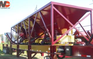 RWC Equipment Leasing Portable Bin Feeder Plant